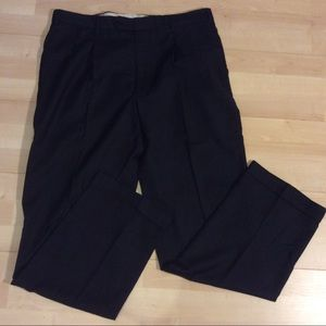 """Brooks Brothers """"346"""" Dark Grey Wool W34 L32 Pants"""